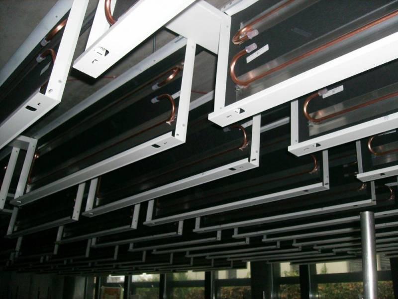 climatisation par plafonds froid