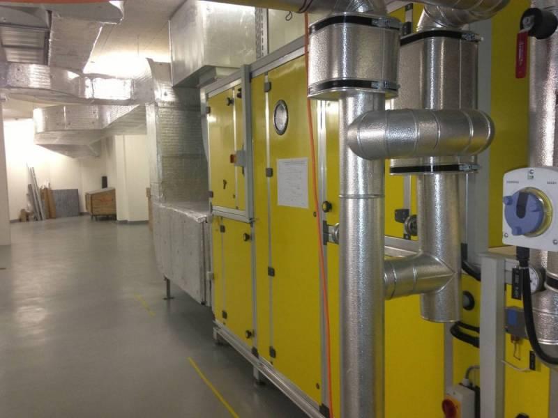Centrale de ventilation