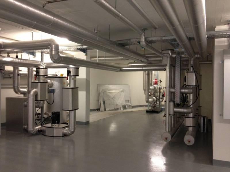 Sous-station de production de chaleur